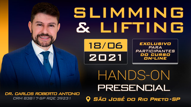 Hands-On Slimming & Lifting - 18-06 - DR CARLOS - TURMA MANHÃ - SJRP