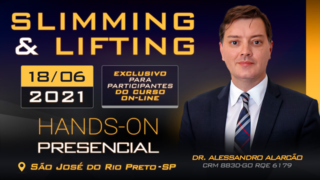 Hands-On Slimming & Lifting - 18-06 - DR ALESSANDRO - TURMA - MANHÃ - SJRP