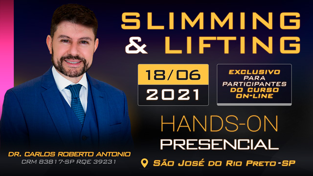 Hands-On Slimming & Lifting - 18-06 - DR CARLOS - TURMA TARDE - SJRP