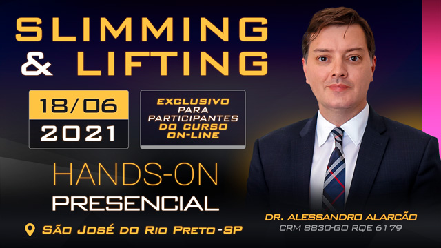 Hands-On Slimming & Lifting - 18-06 - DR ALESSANDRO - TURMA - TARDE - SJRP